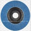 Disque standard d'aileron de Zirconia de 4 pouces pour l'acier inoxydable