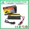 El nuevo cargador de batería del cargador 20A 24V con CE aprobó (QW-682024)