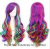 Colore delle 2016 capelli lunghi femminili di nuovo di modo di Cosplay parrucche del Anime