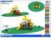 Conjunto al aire libre de la diapositiva del patio de los niños