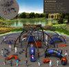Campo de jogos físico da aventura do equipamento da Muti-Função do console da aventura do sistema de treinamento do desenvolvimento das crianças de Kaiqi