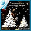 Etiqueta engomada de la pared de los regalos de la Navidad de las medias de la Navidad del árbol de navidad