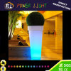 防水LEDによって照らされるプラスチック庭の植木鉢
