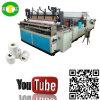 Alta producción que convierte precio de la máquina del rodillo del papel higiénico