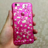 Moto G2/G3のためのプラスチックローズColor Soft Pearl Flower Mobile Phone Cover