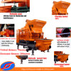 Diesel Generatorの移動式Forced Concrete Mixer Pump Truck Machine