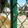 工場ダイヤモンドの金網の塀のダイヤモンドの金網の塀