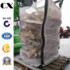Pp Woven FIBC Bulk Jumbo Big Mesh Bag con 4 Cross Corner Loops