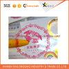 Impresión de etiquetas de papel adhesivo etiqueta de encargo etiqueta transparente