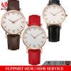 Yxl-307 vendent l'usine faite sur commande bon marché de montres de Mens de montre de Dw de type de quartz neuf promotionnel en cuir d'arrivée