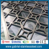 Diviseur portatif en métal de pièce d'écran d'acier inoxydable