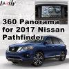 Hintere Ansicht-u. des Panorama-360 Schnittstelle für Nissan Pathfinder 2017 mit Signaleingang-Form-Bildschirm des Infiniti Multimedia-Systems-Lvds RGB