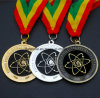 Medaglia su ordinazione di sport del premio di funzionamento con il nastro Colourful