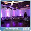 Transmitir y cubrir el soporte del contexto para la decoración de la boda