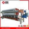 Máquina hidráulica completamente automática de la prensa de filtro del compartimiento