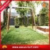 Hierba falsa artificial del sintético del césped de la decoración al aire libre del jardín