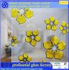 Стекло кисловочного цветка льда стеклянное декоративное