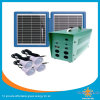 con el pequeño Soalr sistema del panel solar y del LED de las luces 20W