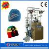 円の帽子の帽子の編む機械