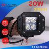 20W 3 인치 LED 운전 빛 4WD 작업 등