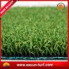 Mini alfombra de la hierba del golf de la hierba artificial verde del césped