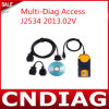 Превосходное Quality Latest 2013.02V multi-Diag Access J2534 Passthru OBD2 Device