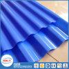 Matériau de toit transparent Matériau de toit Protection UV Plaque en polycarbonate ondulé