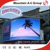 Exhibición de LED al aire libre de P10 Digitaces que hace publicidad del panel del LED