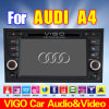 '' Navigation du lecteur DVD GPS de voiture de HD D7 pour le câble d'intérieur rond 4 d'uplex d'Audi A4 (VAA7057)