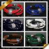 I monili di cuoio, lega pavimentano il braccialetto a cristallo, i monili dei braccialetti di modo (FB086)