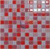 Mosaico di vetro rosso della decorazione di Grossy (CFC165)