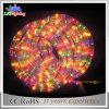 couleur 220V changeant la corde imperméable à l'eau de la lumière DEL de décoration de vacances