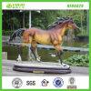 Sculpture décorative en cheval de Chambre artificielle de résine (NF86029)