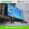 Muestra publicitaria a todo color impermeable al aire libre de Chipshow P10 LED