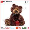Urso macio da peluche do animal enchido do brinquedo do urso do luxuoso dos brinquedos En71