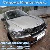 Película libre del abrigo del coche del espejo del cromo del aire de la alta calidad
