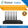 8개 GSM Channles VoIP GSM Gateway를 가진 Yeastar Neogate Tg800