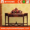 Recubrimiento de paredes floral con proyecto del vinilo
