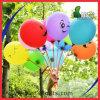 Nice om Ballon van het Latex van het Helium van de Druk van het Gezicht van de Glimlach van de Vorm de Opblaasbare