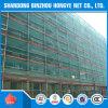 Material de construção da rede de segurança verde do HDPE/rede do andaime