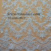 Venda Por Atacado White Rayon and Polyester Beaded Bridal Lace Fabric Wedding Dress (VL-60001BCP)
