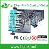12 núcleo LC à gaveta de fibra óptica da caixa terminal de MPO