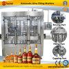 Machine de capsulage remplissante d'eau-de-vie fine automatique