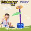 2014 brinquedo superior do edifício DIY da flor plástica inteligente dos cabritos mini