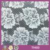 Fabbricato caldo del merletto di disegno del fiore del cotone di vendita