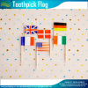 Mundo Flags Toothpick de Soccer Mini Toothpick Flags (M-NF29F14026)