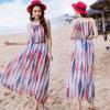 Пляжа 2016 платье нового женщин типа шифонового длиннее
