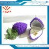 Tipo caja de la fruta de joyería del anillo de los pendientes pendientes de la forma de la uva de las cajas