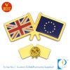 La Cina all'ingrosso personalizzata timbrando il distintivo di Pin della bandierina di paese di doratura elettrolitica in alta qualità