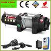 guincho de poder de controle remoto do motor de 2500lbs ATV com corda de fio